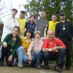 Společné foto účastníků Podhrad Open 2012